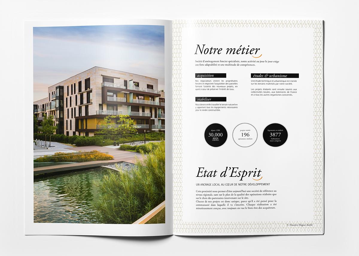 Brochure corporate Foncière Hugues Aurèle