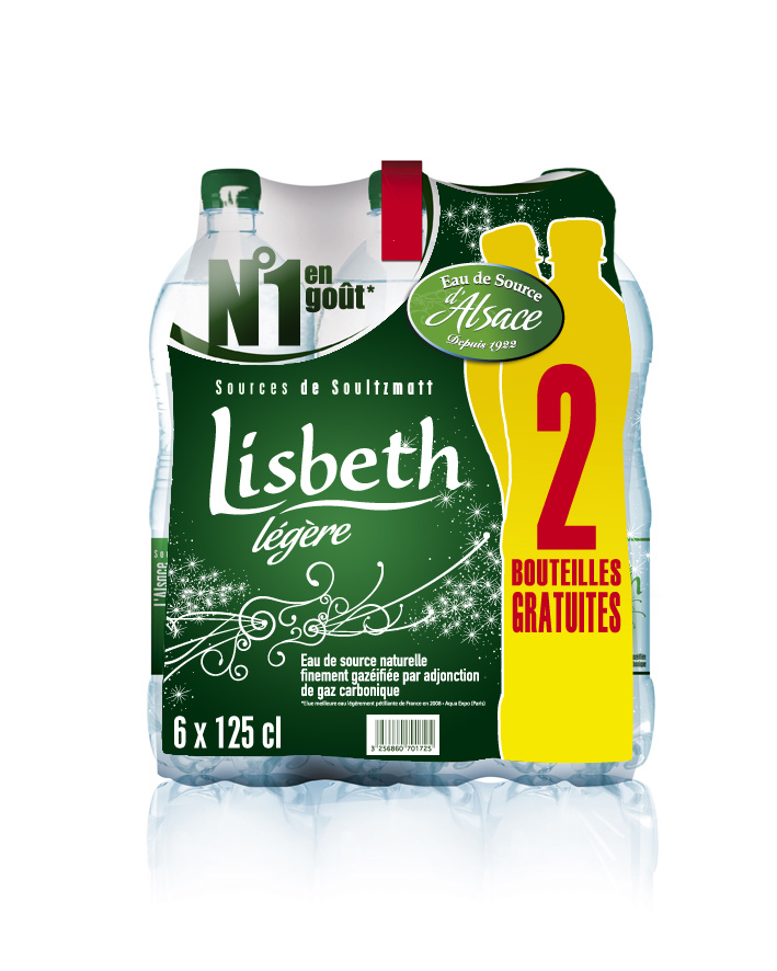 Packaging promotionnel Lisbeth