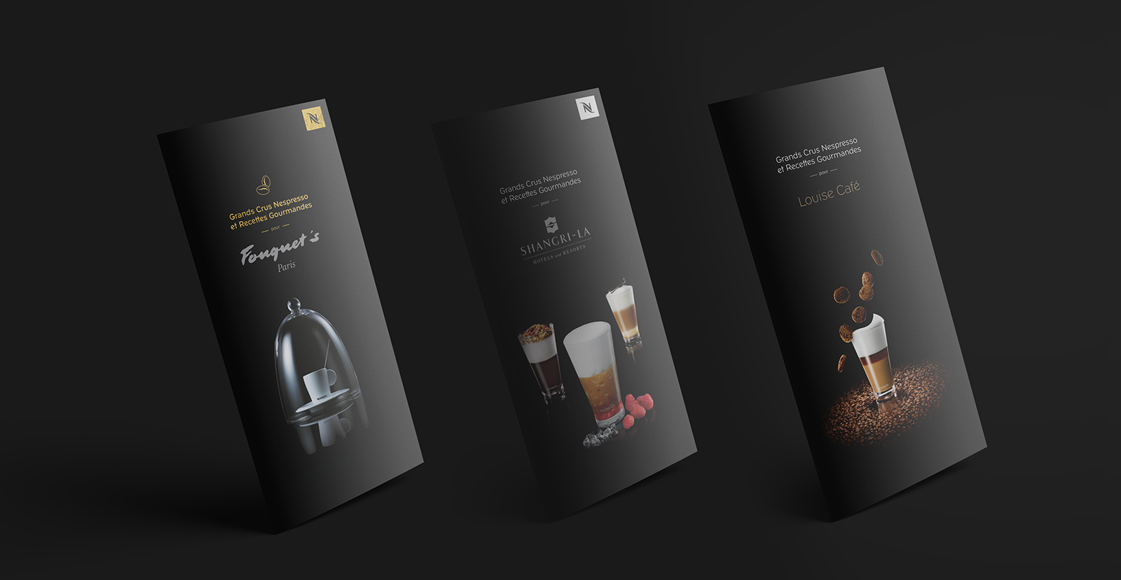 Cartes Nespresso personnalisable et segmentées