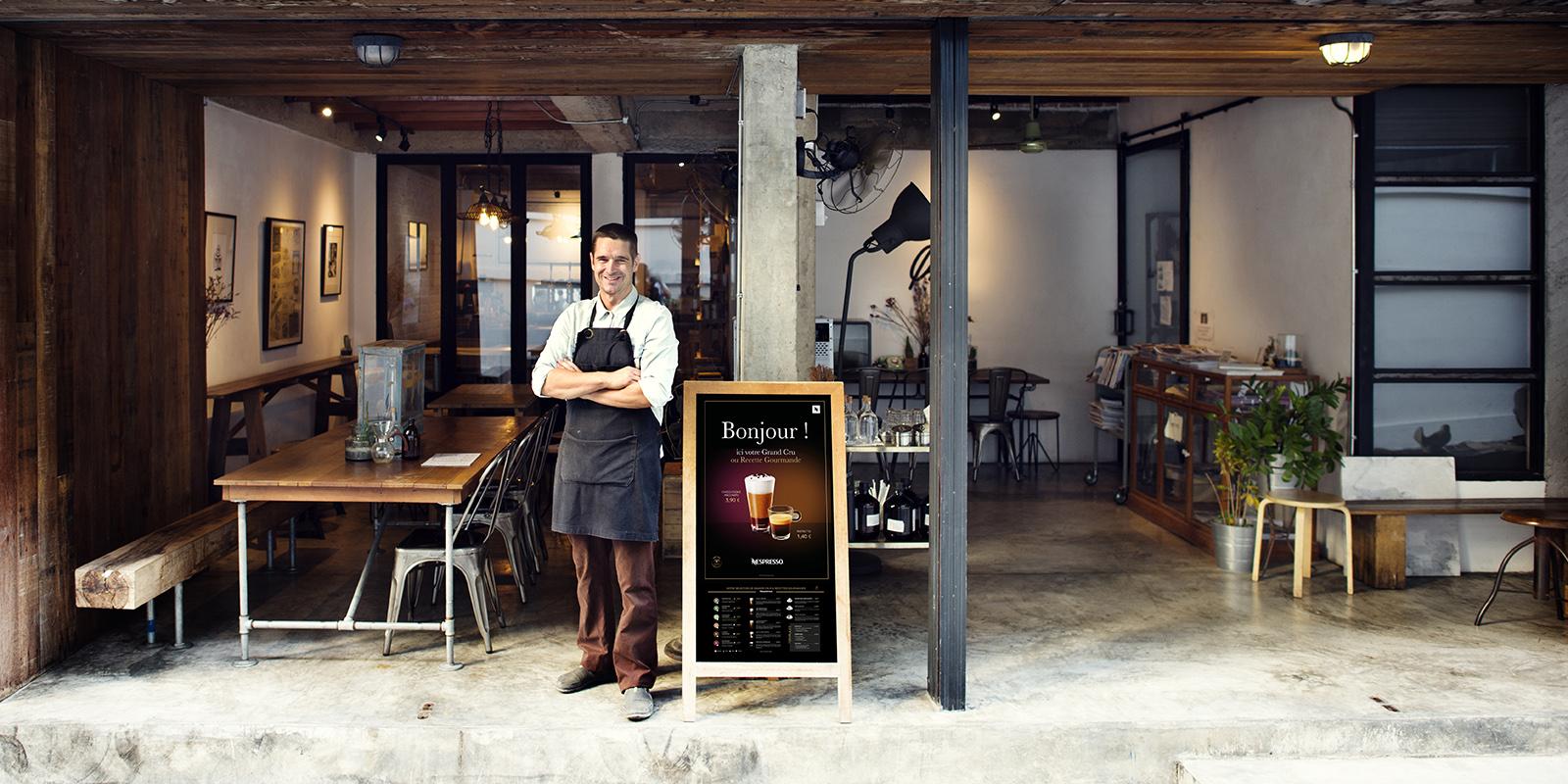 PLV In store Nespresso