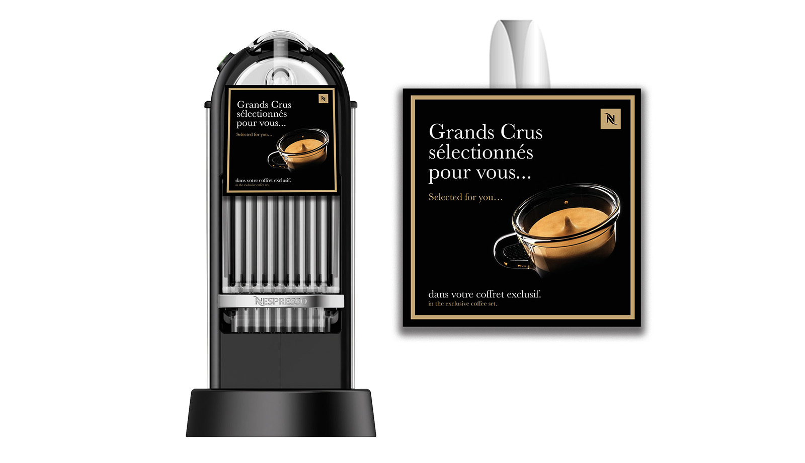Stop machine Nespresso